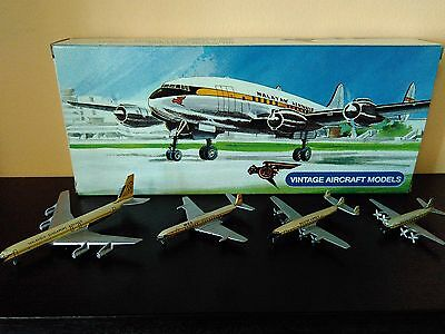 Schabak 1/600 Extremely Rare Oop Vintage Malaysia Singapore Airlines Aircrafts.