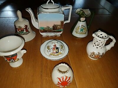Goss And Similar Porcelain Items.including War Addition.