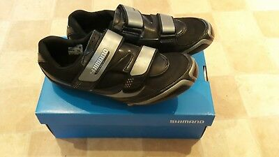Shimano SPD road bike shoe with cleats