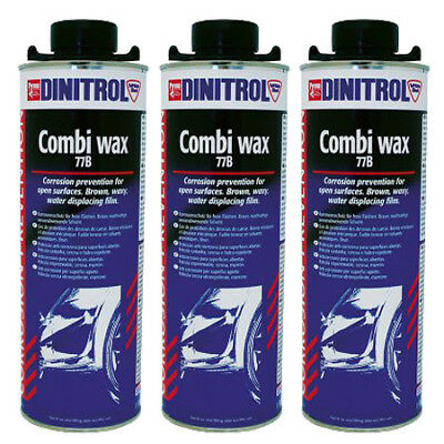DINITROL 77B CAVITY WAX (LIGHT BROWN) 1 litre x 3