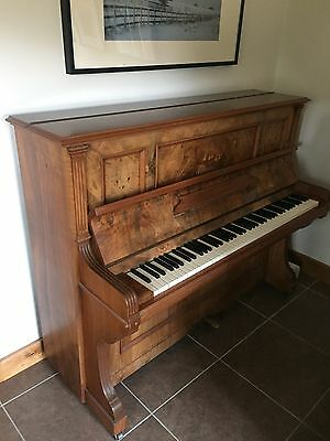 Waldemar upright piano, full working order, just needs tuning
