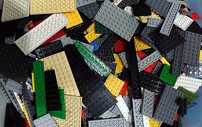 LEGO 20 x Base Plates Boards Strips Bases Mixed Colors FREE P&P