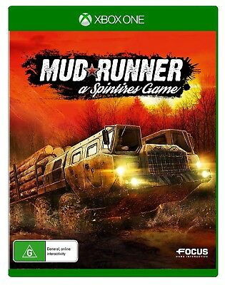 Spintires Mudrunner XBOX ONE (PAL) New! // Pre-Order