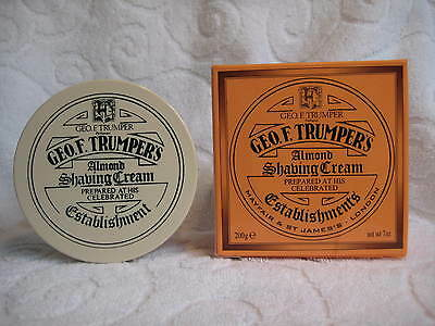 Geo F Trumper Almond Shaving Cream in a Tub 200g