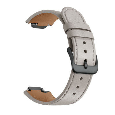 Balerion-Watch band for ASUS ZenWatch 3,Quick Release Genuine leather Grey