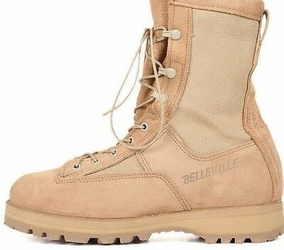 British Army Desert Belleville Boots - New Size Uk 9 R - Desert Boots