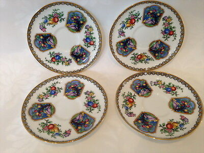 4 x AYNSLEY EDENA HAND NUMBERED B291 SAUCER REPLACEMENT
