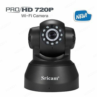 WIFI HD 720P IP Camera Surveillance Motion Detection Pan/Tilt Two-Way Audio