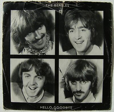 "The Beates - Hello, Goodbye 7"" Rare Picture Sleeve"