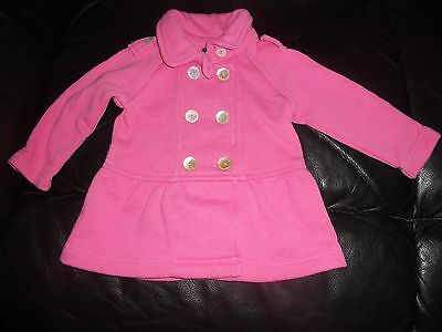 Baby girls Fred Bare double breasted fleece jacket  Size 0