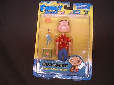 Family Guy  Quagmire  NEW  6 Inch   Action Figure  Series 3   Mezco Toyz