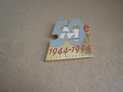 03-01 - 50th anniversary of the D DAY pin - June 6 1944 pinback - Normandie pins