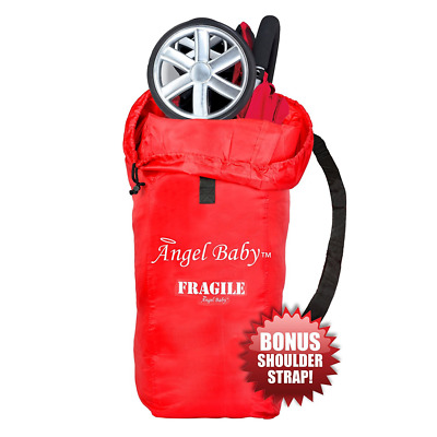 TRAVEL GATE CHECK BAG Cover for UMBRELLA Strollers - DURABLE Polyester with SHOU