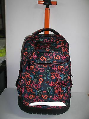 "MOCHILA CON CARRO ""COOL PACK"" Trolley Swift Floral Dream"