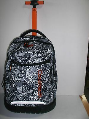 "MOCHILA CON CARRO ""COOL PACK"" Trolley Swift Black Lace"