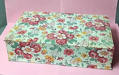 BOX ANTIQUE cardboard box and fabric - VINTAGE…