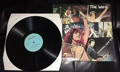 The Who - Who Put The Boot In Live At Swansea City Afc Vinyl Lp 1976 Rare