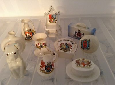 Crested China Ware,, Lot 15