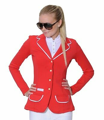 Spooks Show Jacket Red Small