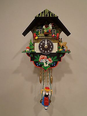 Brand New Novelty Cuckoo Clock With Hourly Chime Or Cuckoo