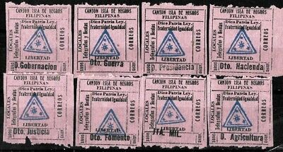 748 - Philippines - 1898 -  Local Telegraph? - Forgeries - Faux -