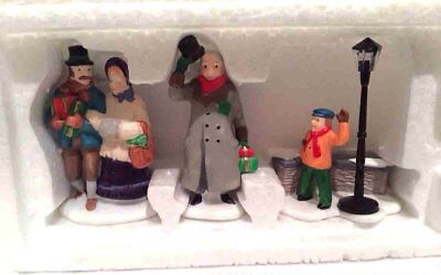 Dept 56 Heritage Village Collection A Christmas Carol Morning Set of 3