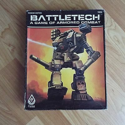 Battletech RPG (2nd Second Edition 1604) by FASA