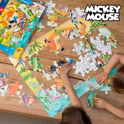 Puzzle Double Face Mickey