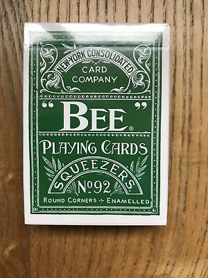 1 Deck Of Bee Squeezers Playing Cards. New Sealed. Uspcc.