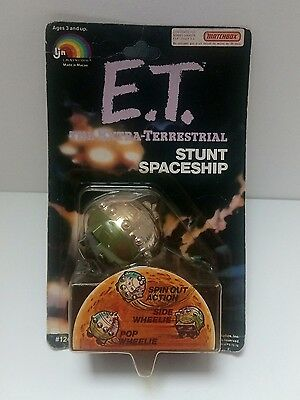 Vintage 1982 E.T. Stunt Ship Collectible | on Card | Unpunched