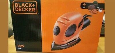 Black and Decker Mouse Sander Brand new sealed Inc. Carry bag 15+ accs