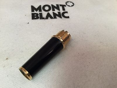 Montblanc Meisterstuck Classique Black w/ Gold Ring Fountain Grip Section 144