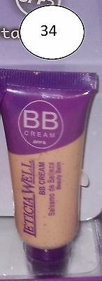 "Fond de teint fluide "" BB CREAM "" de "" LETICIA WELLE ""  clair   N° 34."