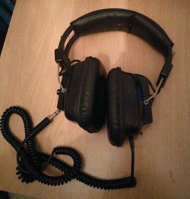 vintage SONY HEADPHONES DR-9 over-ear  cans / tins