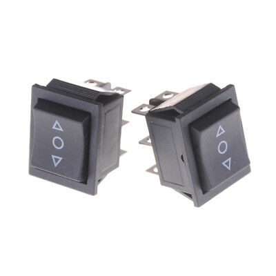 2PCS 6 Pins On-Off-On Rocker Switch Momentary Rocker Switch TX