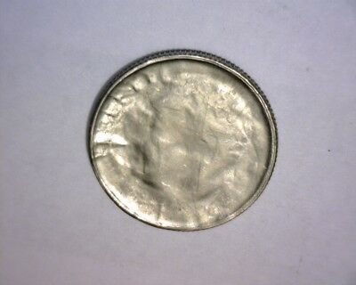 20Xx Roosevelt Dime Late Stage Capped Die Strike,>W/full Brockage< Us Error Coin