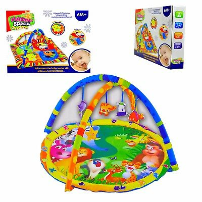 Baby Gym Activity Supper Soft Playmat Play Mat with toys for Boys / Girls