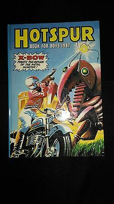 Hotspur Annual 1987 Vintage Action/Adventure Hardback Book