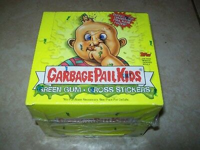 Garbage Pale Kids - Gross Stickers & Green Gum (2003 Sealed Box)