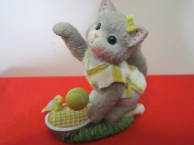 """Vintage Calico Kittens Figurine """"WE'RE A PERFECT MATCH"""" 1998 P. Hillman # 454656"""