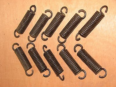 #3 Lot of 10 Vintage Small Bed Springs 3 3/8 inches Steampunk Craft Metal Art