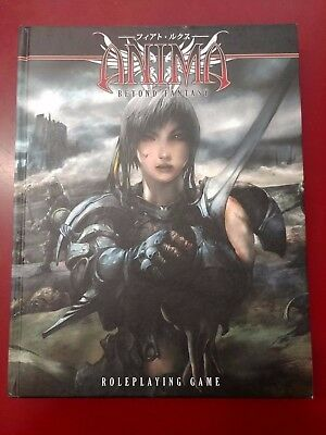 Anima: Beyond Fantasy Roleplaying Game Core Rulebook FFG HC LN
