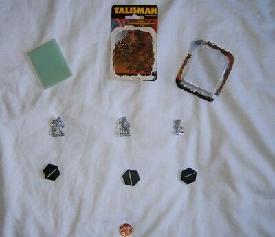 TALISMAN 2nd EDITION - Ranger, Gladiator & Leprechaun Miniatures / Figures 1985