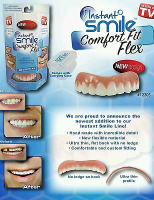 Instant Perfect Smile Comfort One Size Fits All Flex Teeth Top Cosmetic Veneer