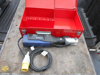 Geberit Novopress Eco 1 Crimping Unit 110 Volts Used In Box Good Condition