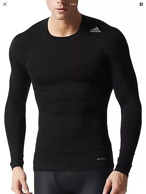 Adidas Techfit Compression top brand new with tags large
