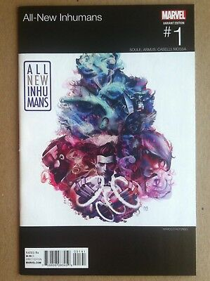All-New Inhumans #1 Marco D'alfonso Hip-Hop Variant Cover Nm 1St Printing