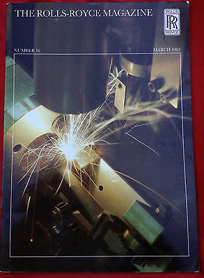 ROLLS-ROYCE MAGAZINE Number 16 March 1983