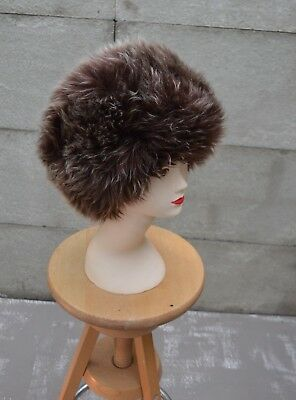 Vintage Style Russian Lamb Skin Fur Ladies Winter Hat by Karl Donoghue