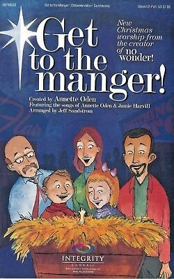 Get To The Manger! (Choral Book, New)